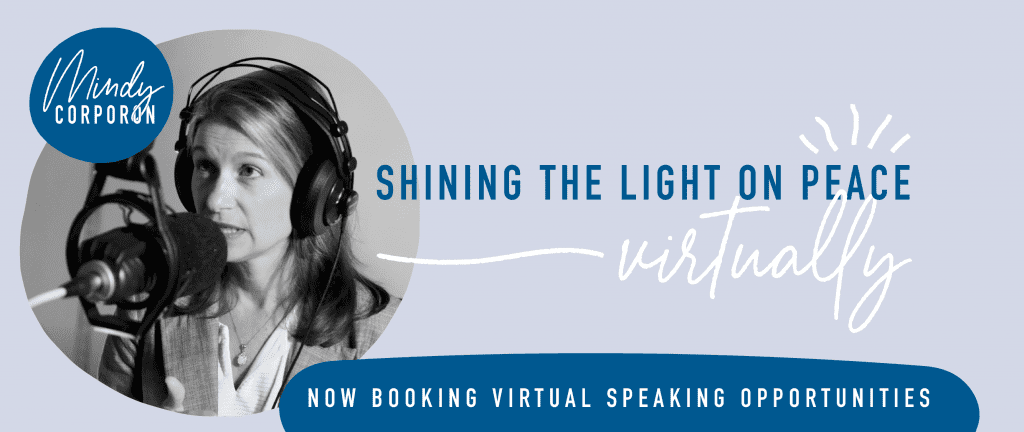 Mindy Corporon, Virtual Speaker