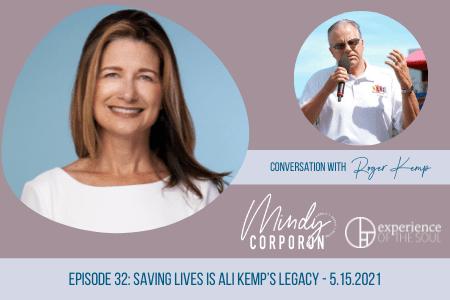 legacy, Ali Kemp, saving lives